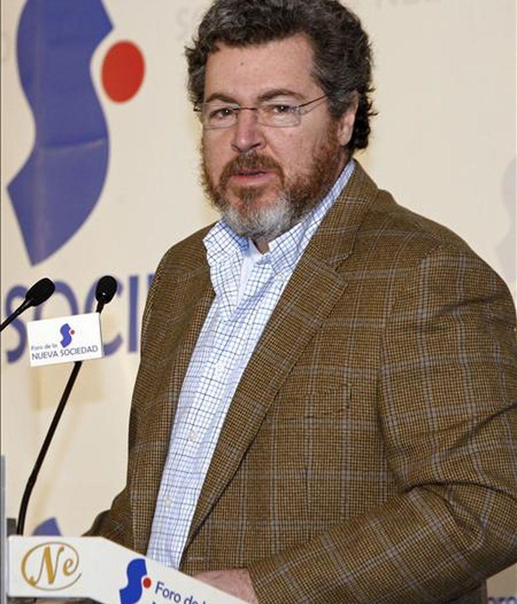 El director ejecutivo de Greenpeace, Juan López de Uralde. EFE/Archivo