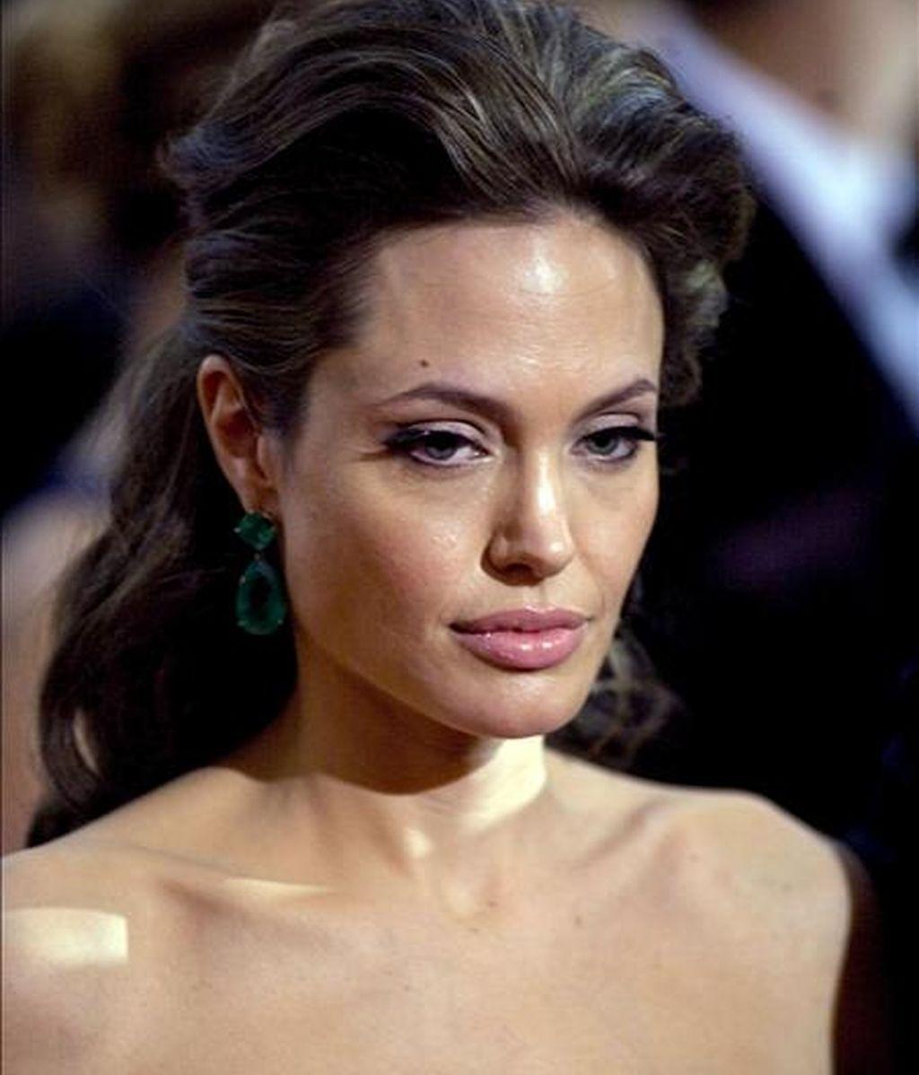 """La actriz estadounidense Angelina Jolie aseguró: """"No he hecho ninguna épica histórica de esa naturaleza y ella (Cleopatra) siempre ha sido fascinante."""". EFE/Archivo"""