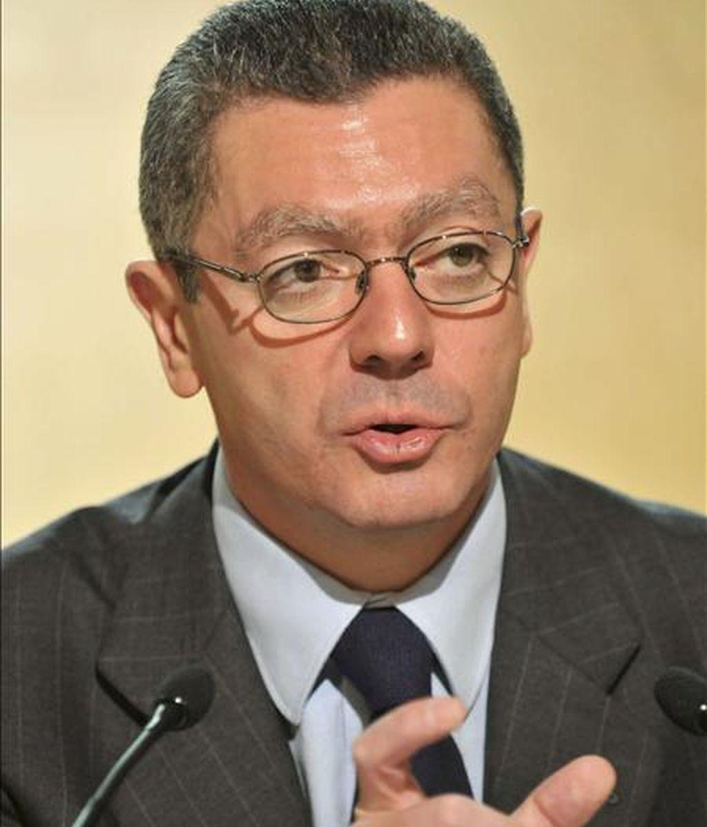 El alcalde de Madrid, Alberto Ruiz-Gallardón. EFE/Archivo