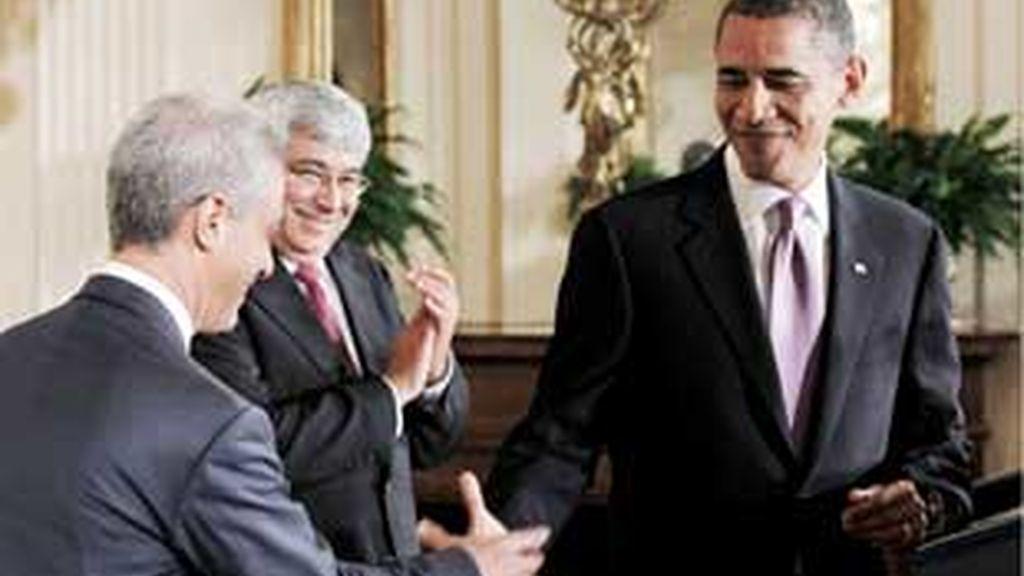 La marcha de Emanuel puede precipitar la salida de otros altos cargos de la Casa Blanca tras las elecciones de noviembre. FOTO: AP