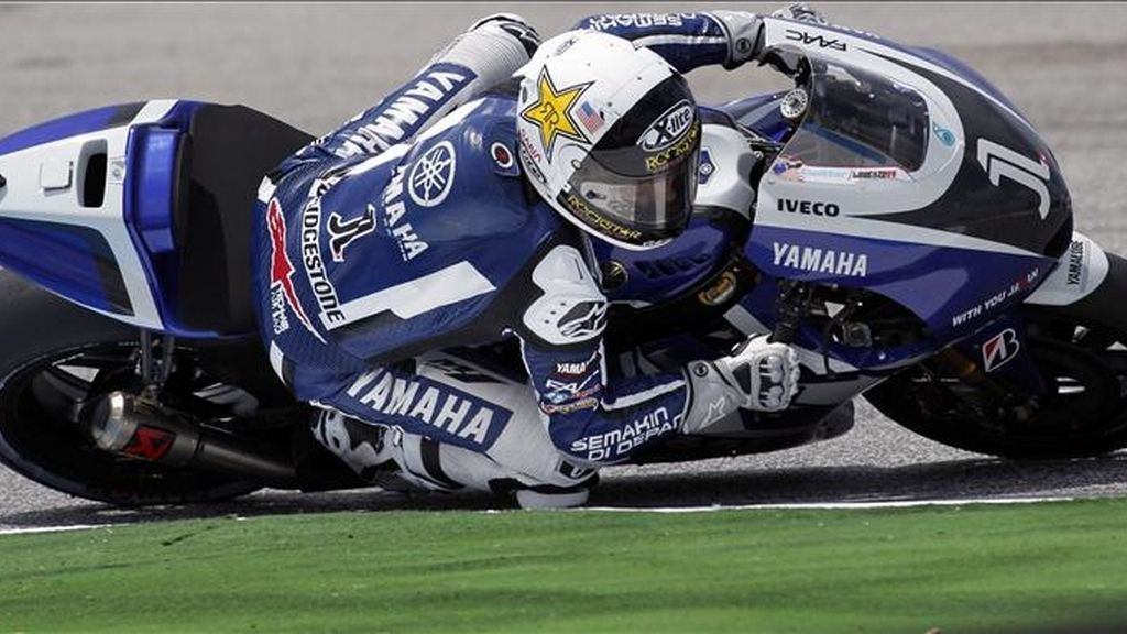 El piloto español de MotoGP de Yamaha, Jorge Lorenzo. EFE/Archivo