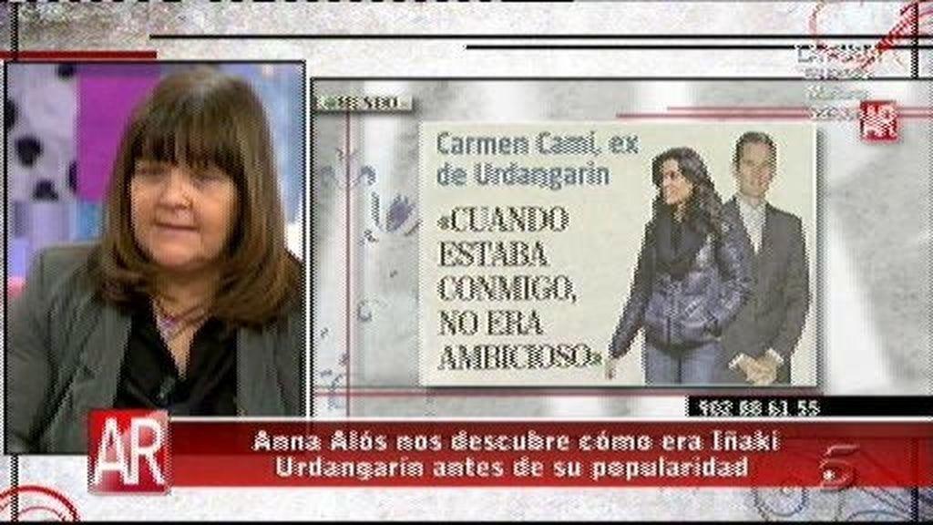 A Carmen Camí le da mucha pena lo que le está pasando a Urdangarín