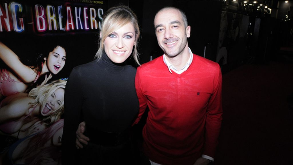 Luján Argüelles con Óscar Vega, director de Moneytime