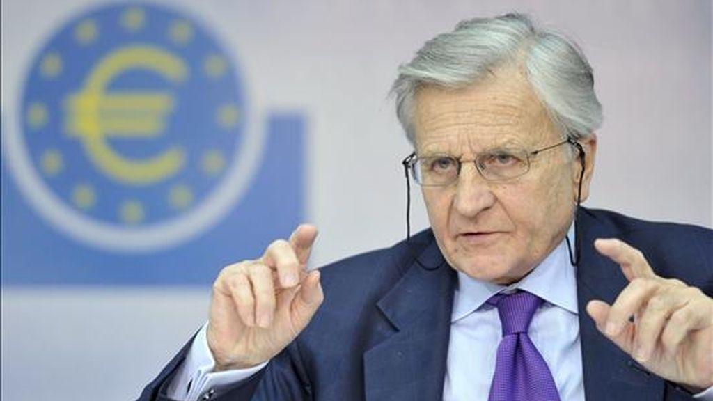 El presidente del Banco Central Europeo, Jean-Claude Trichet. EFER/Archivo