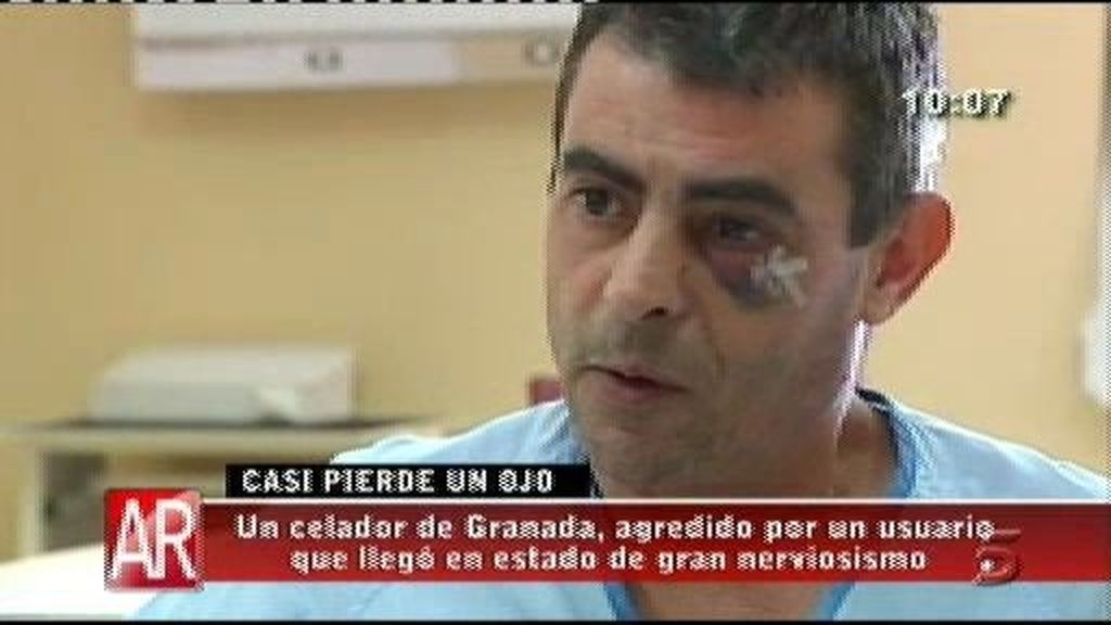 Un celador es agredido por un usuario en un centro de salud