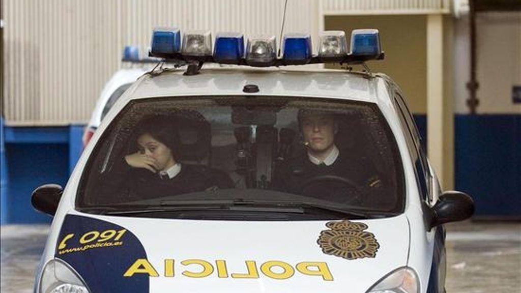 Coche de la Policía Nacional en un suceso. EFE/Archivo