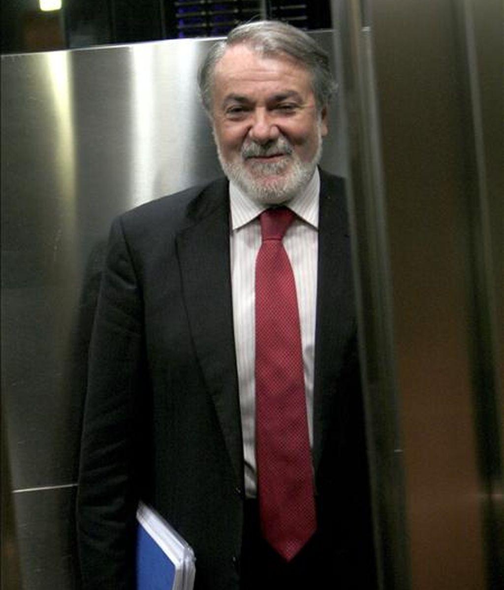 En la imagen, el eurodiputado Jaime Mayor Oreja. EFE/Archivo