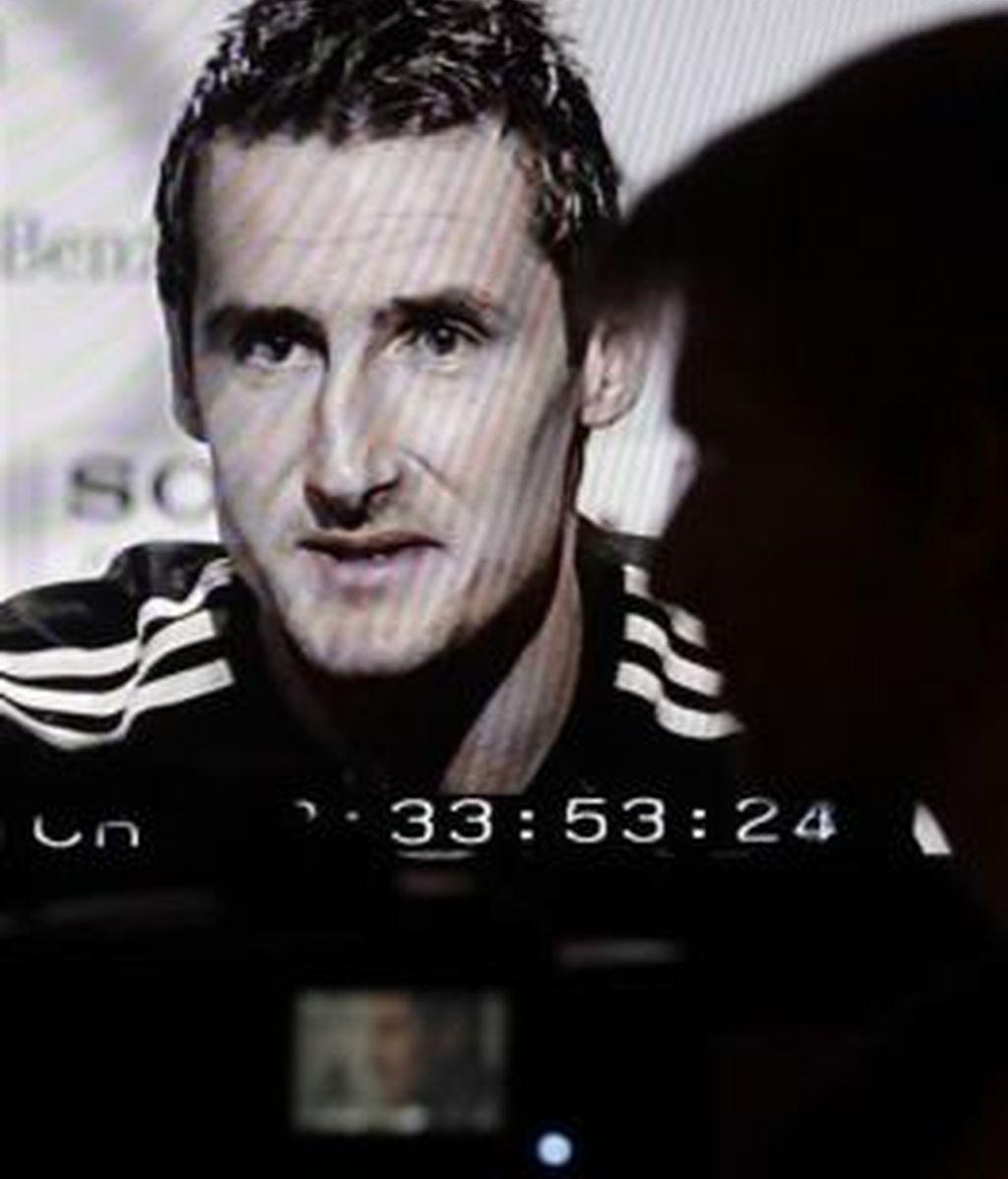 Klose, referencia de ataque de Alemania. Foto: AP
