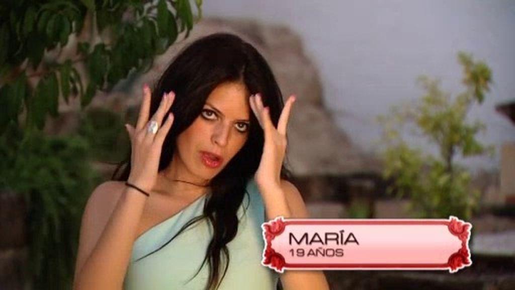 Armando repesca a María, la granadina