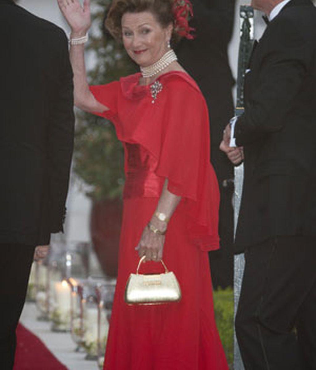 La reina Sonja de Noruega