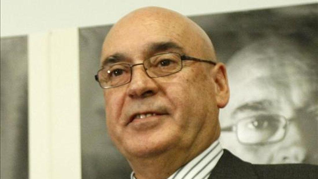 El presidente del Senado, Javier Rojo. EFE/Archivo