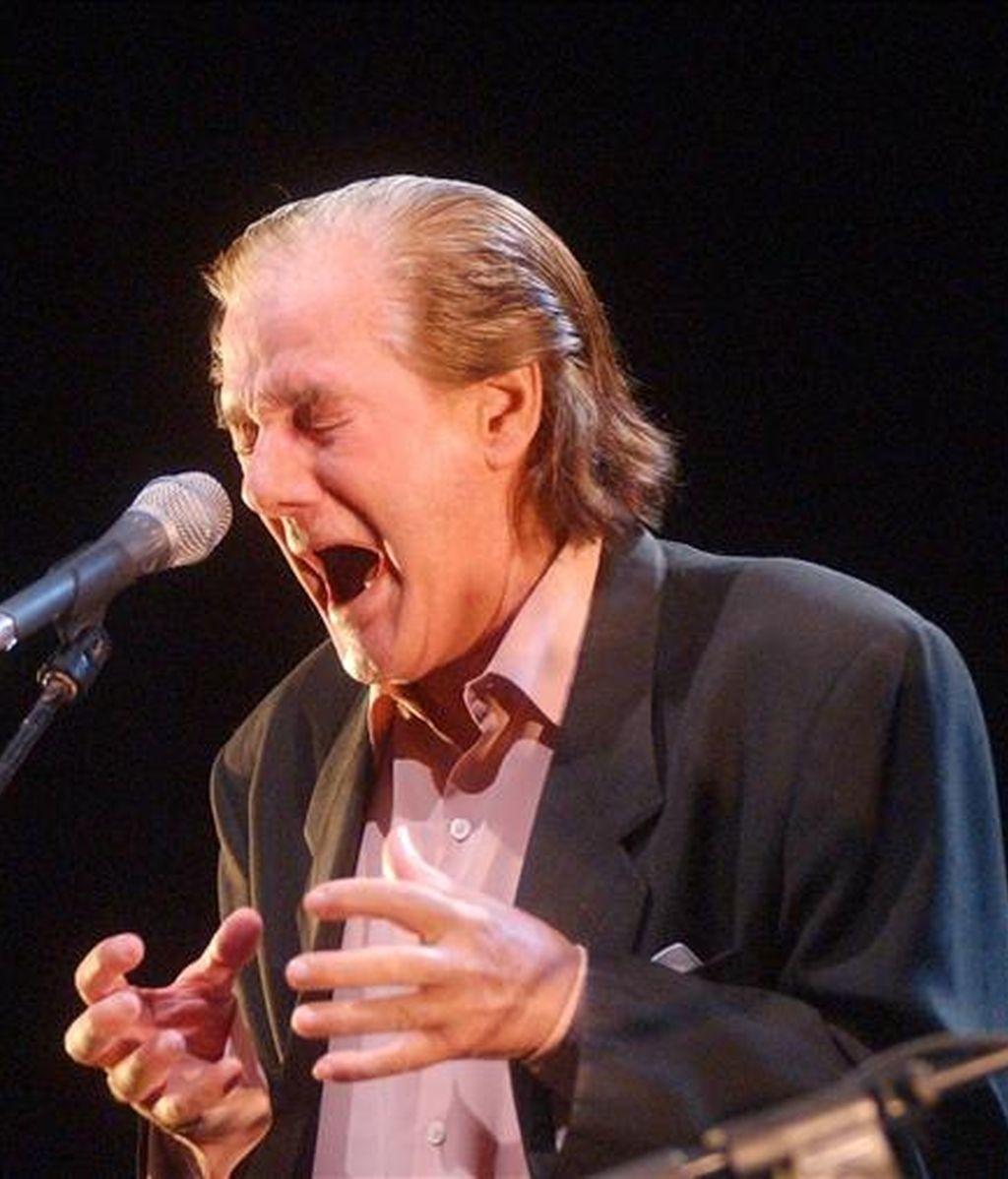 El cantaor Chano Lobato, en una actuación. EFE/Archivo