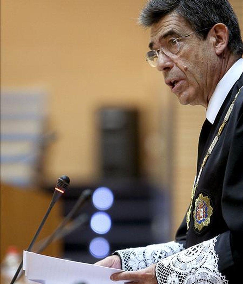 El presidente del Tribunal Superior de Justicia de la Comunidad Valenciana (TSJCV), Juan Luis de la Rúa. EFE/Archivo