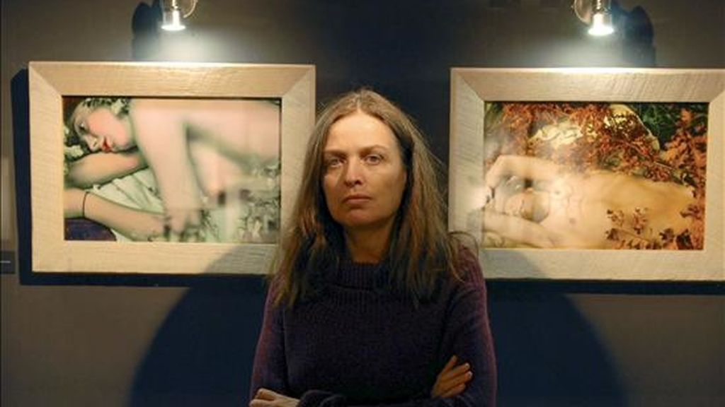La fotógrafa y pintora Ouka Leele. EFE/Archivo