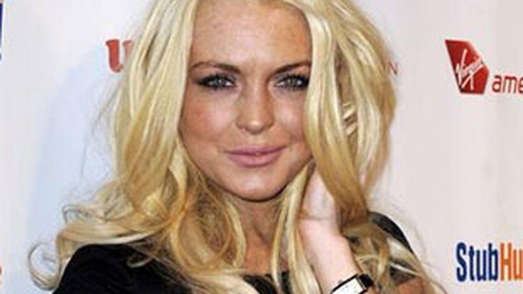 Imagen de archivo de Lindsay Lohan. Foto: EFE.