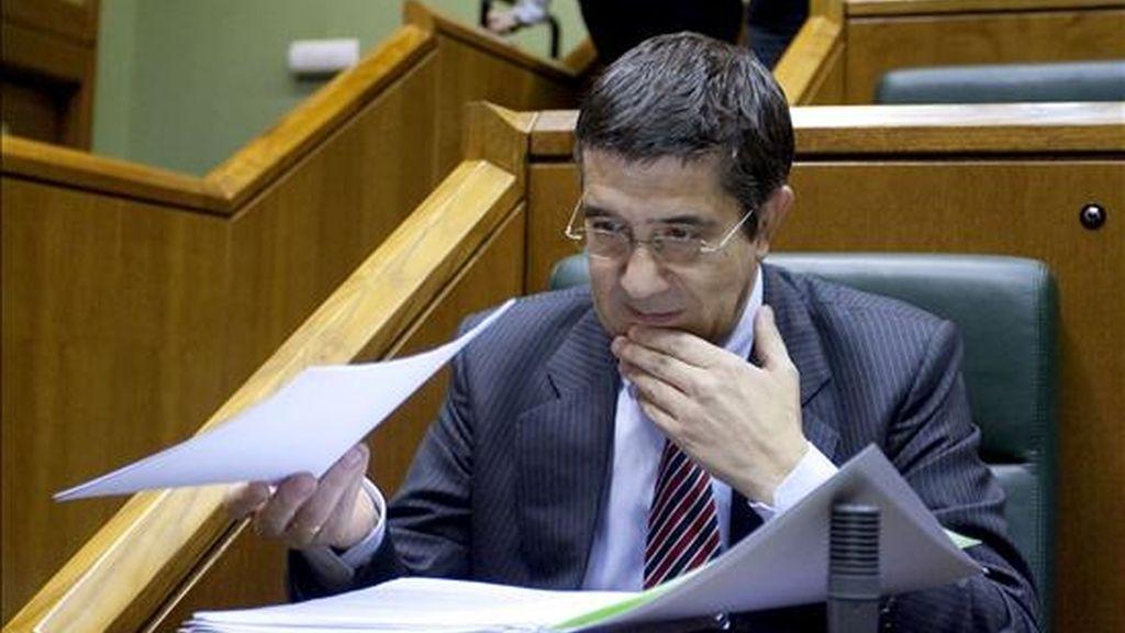 El Lehendakari Patxi López. EFE/Archivo