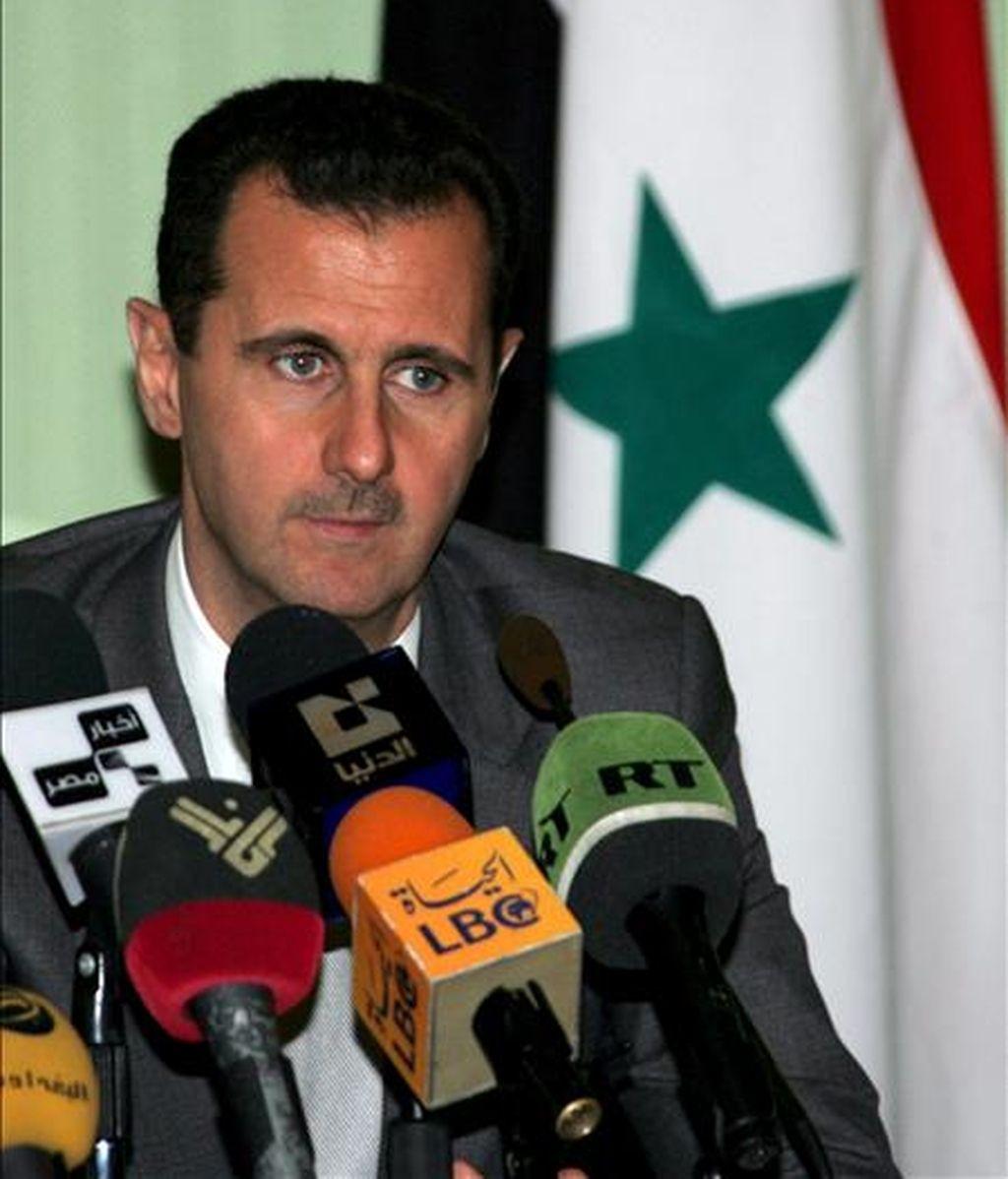El presidente sirio, Bashar Assad. EFE/Archivo