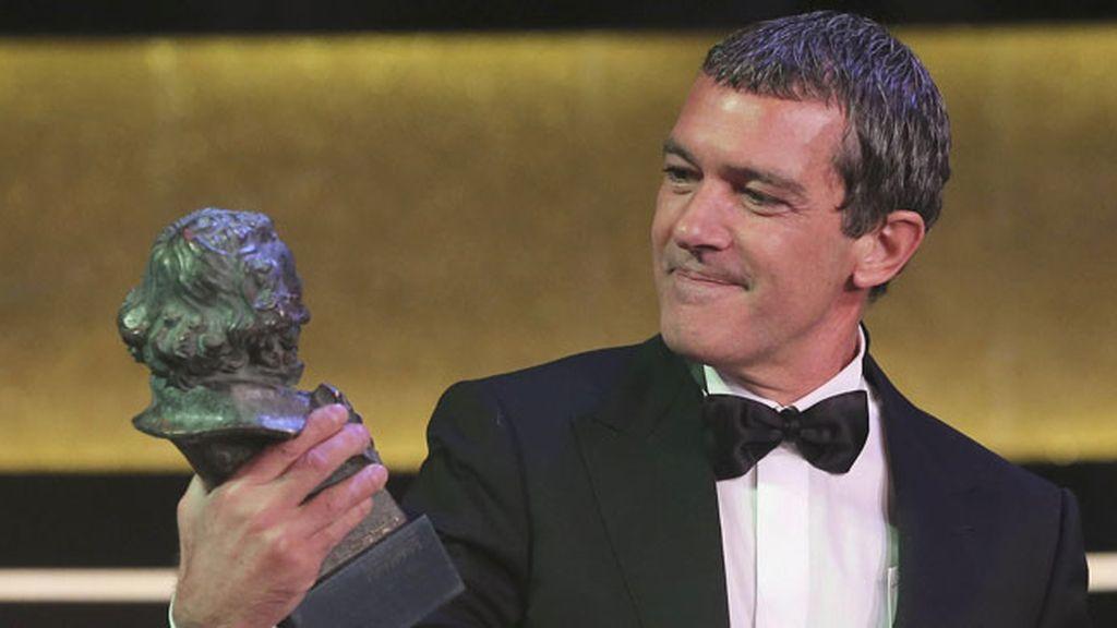Antonio Banderas durante la gala de los premios Goya
