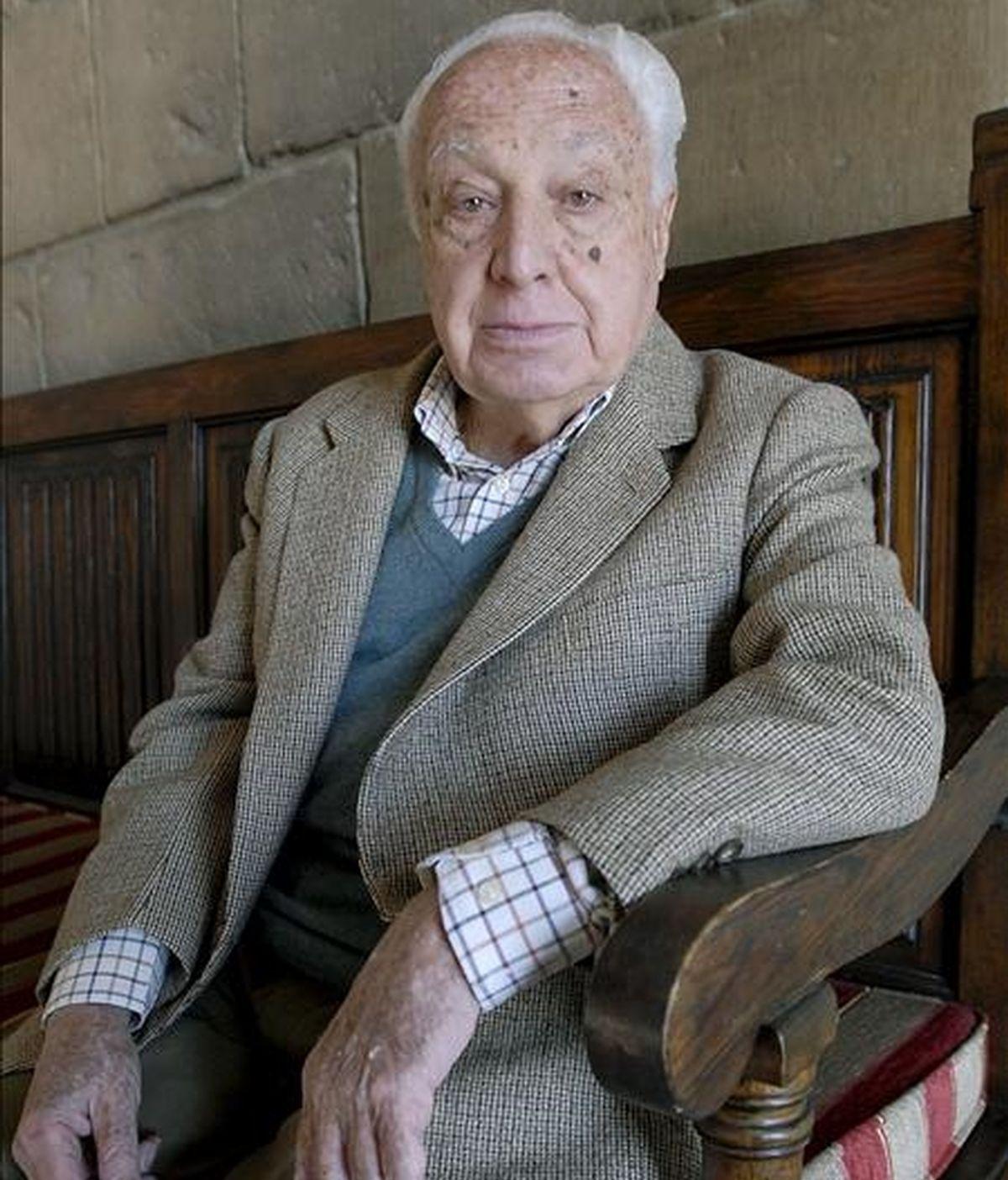 El ex presidente del Tribunal Constitucional, Manuel Jiménez de Parga. EFE/Archivo
