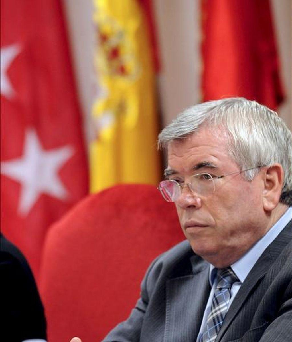 El presidente de la Federación Española de Municipios y Provincias (FEMP) y alcalde de Getafe, Pedro Castro, en una imagen del pasado mes de diciembre. EFE/Archivo