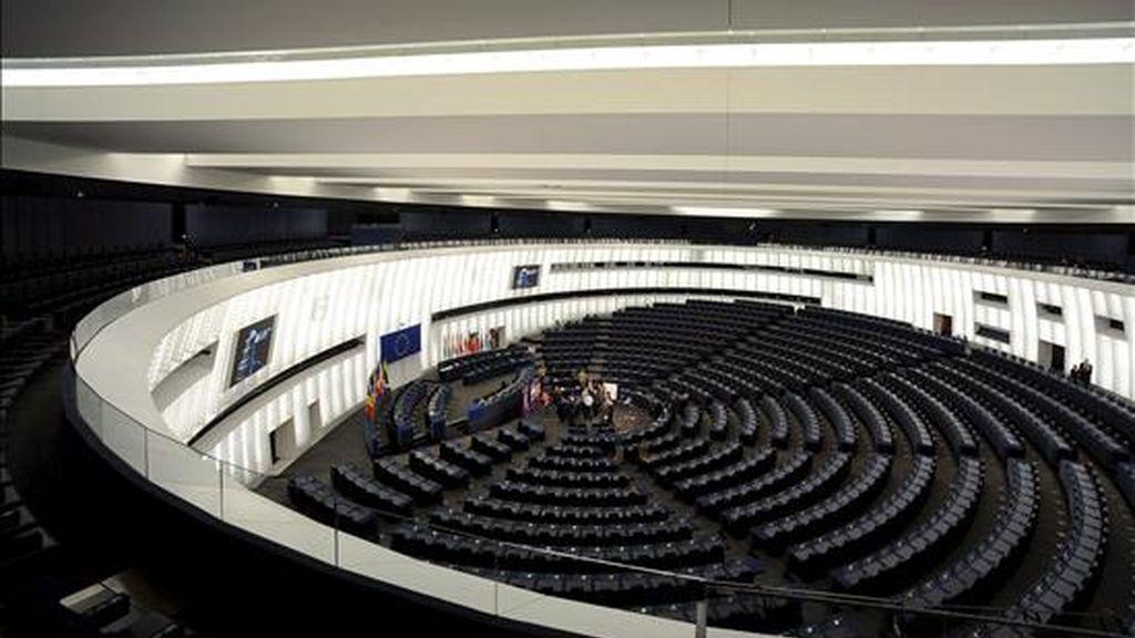 Vista general del hemiciclo del Parlamento Europeo en Estrasburgo, Francia. EFE/Archivo
