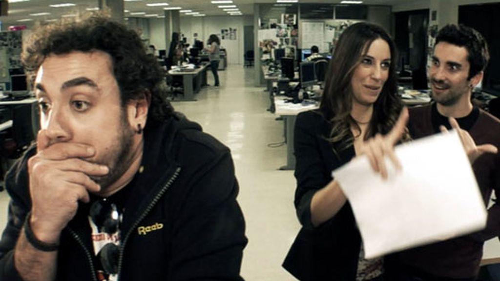 ¡Almudena Cid actúa en 'Becari@s'