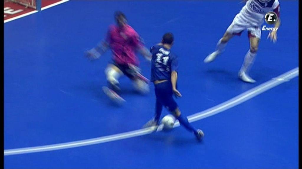 Gol de Chano (Santiago Futsal 4-3 Azkar)