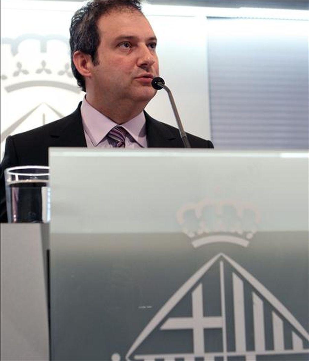 El alcalde de Barcelona, Jordi Hereu. EFE/Archivo