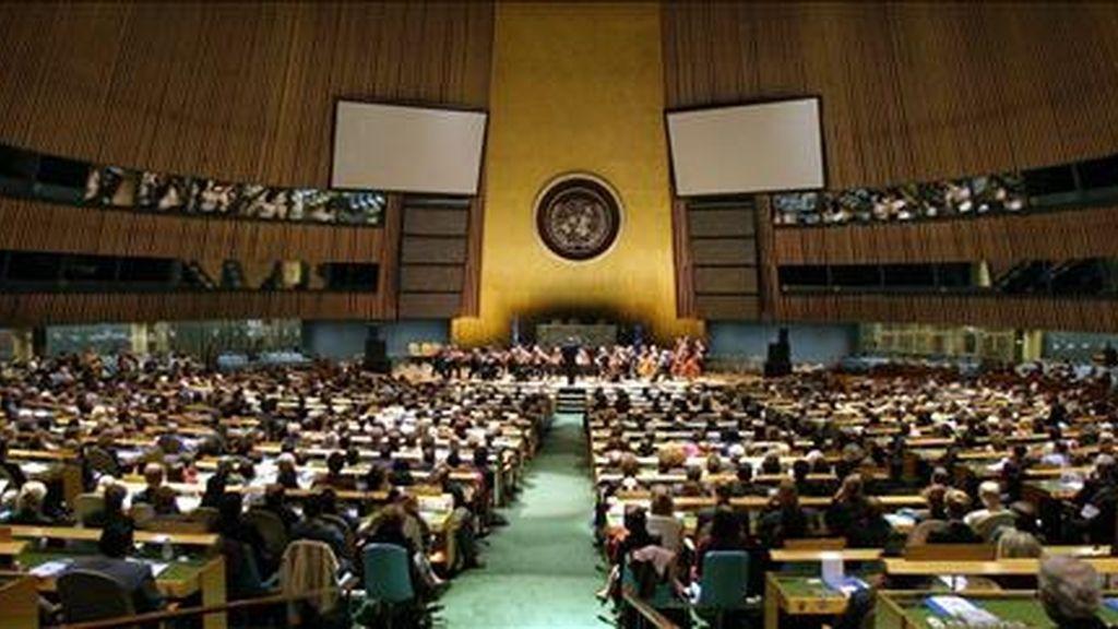 Treki sustituirá a Miguel D' Escoto en septiembre próximo cuando comience la 64 Asamblea General de la ONU. EFE/Archivo