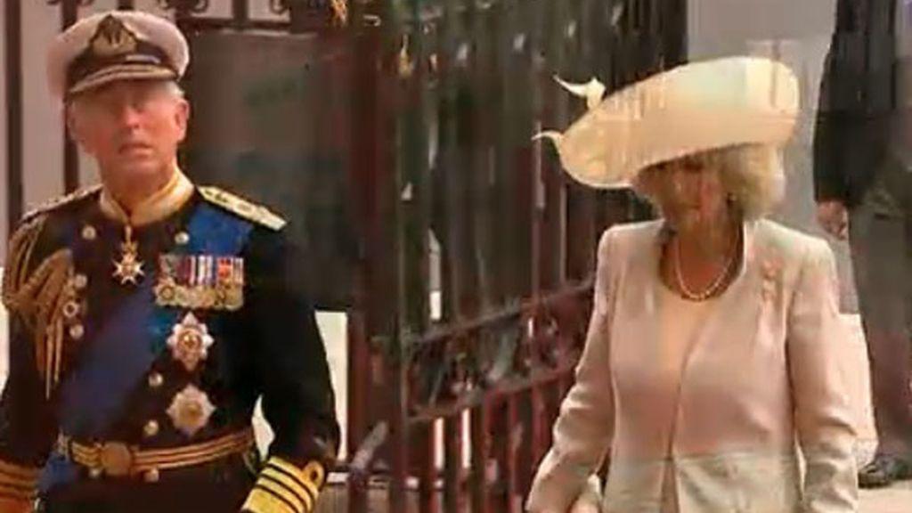 El Príncipe Carlos y Camila