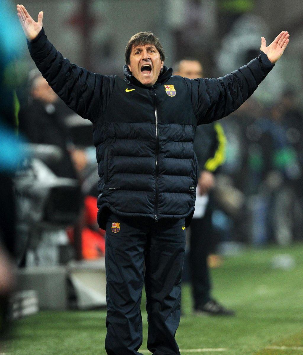 Jordi Roura, segundo entrenador del FC Barcelona