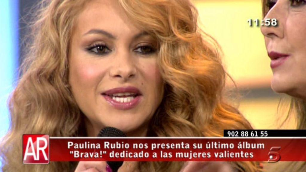 La cantante presenta, 'Brava!', su nuevo album