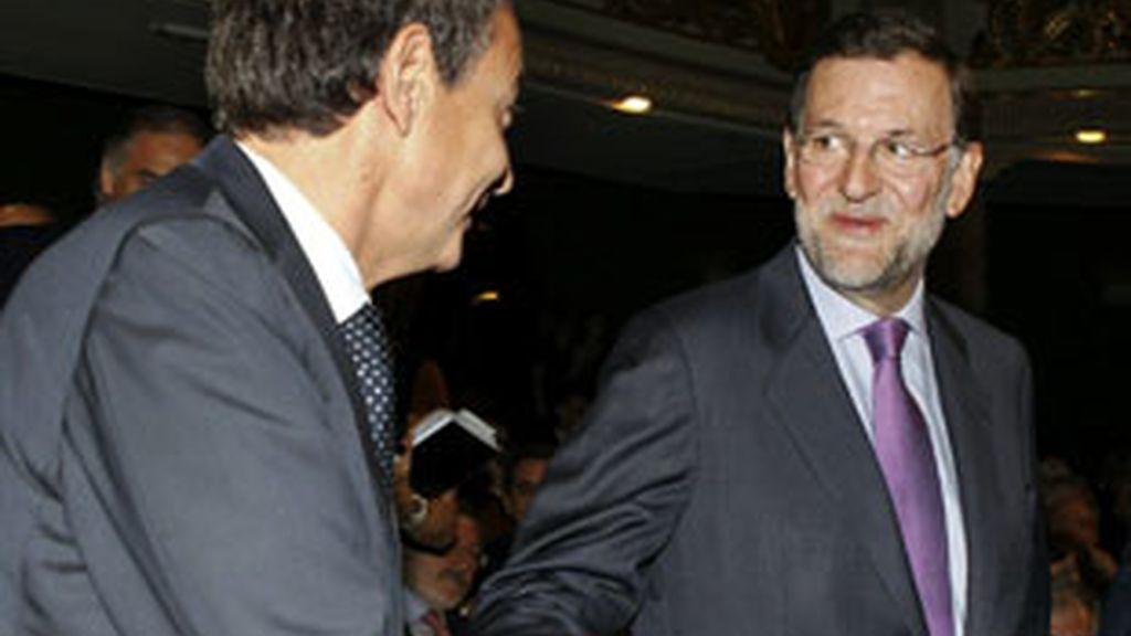 Buenos datos para el líder del PP, Mariano Rajoy. Vídeo: Informativos Telecinco.
