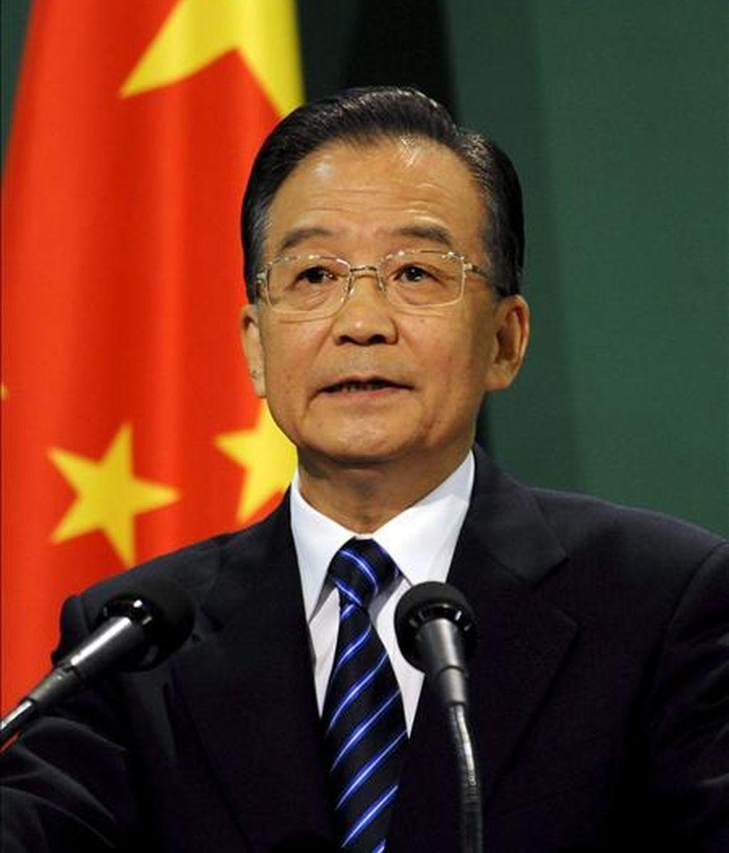 El primer ministro chino, Wen Jiabao. EFE/Archivo