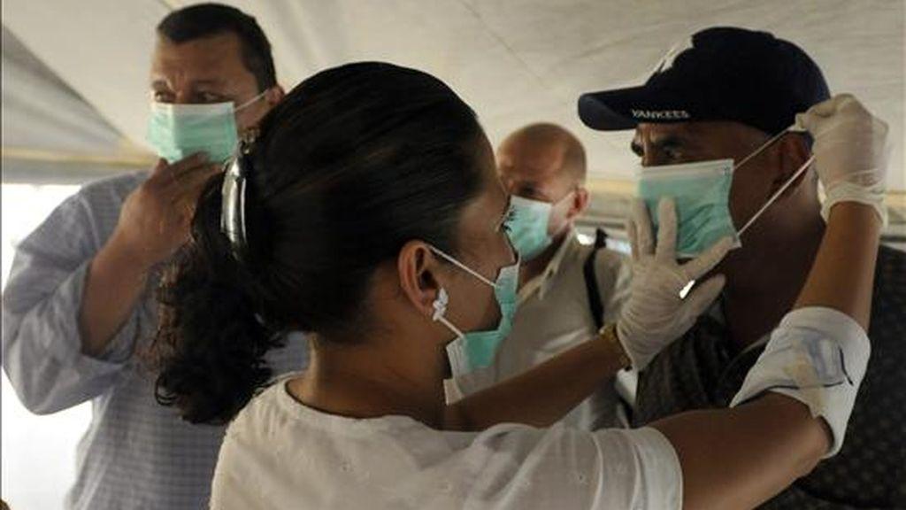"""El ministro hondureño de Salud subrayó que, """"al igual que otros países"""", en Honduras la gripe A ha tenido """"un impacto muy leve en el estado general de las personas"""" afectadas. EFE/Archivo"""