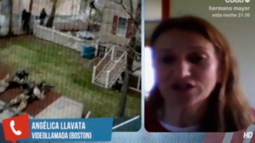"""Angélica Yavata, residente en Boston: """"Estamos en situación de máxima alerta"""""""