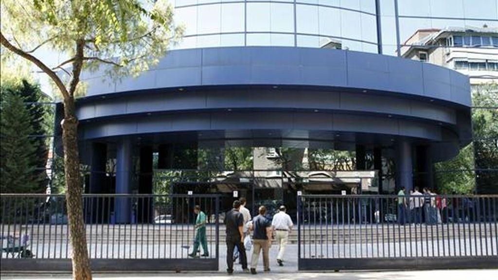 Exterior de la sede de Aeropuertos Españoles y Navegación Aérea (AENA) en Madrid. EFE/Archivo