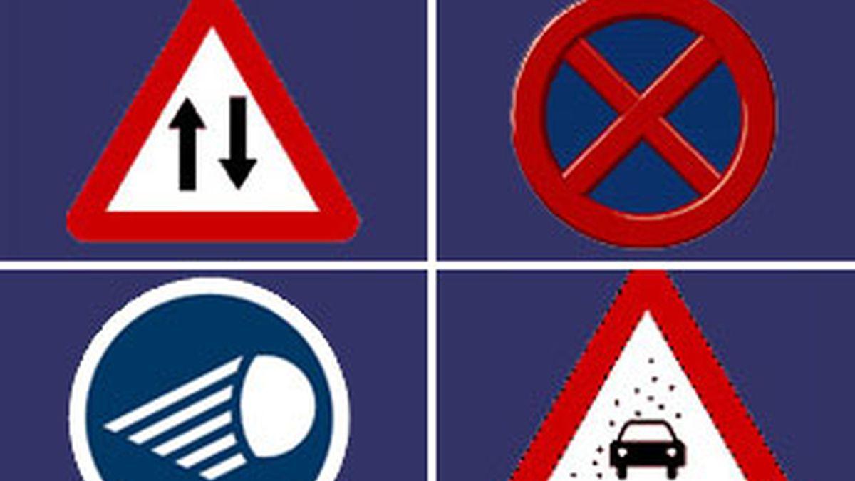 Los españoles sólo conocen el significado del 50% de las señales de circulación.