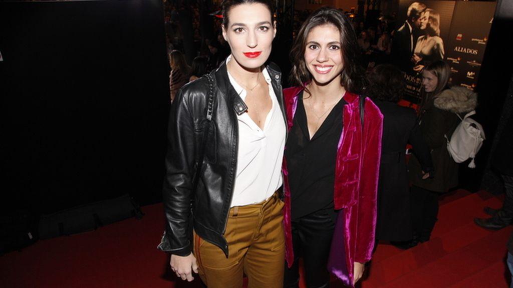 Eugenia Ortiz Domecq y su hermana Ana Cristina