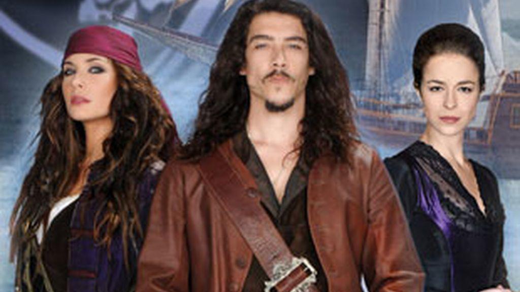 Los protagonistas de 'Piratas'.