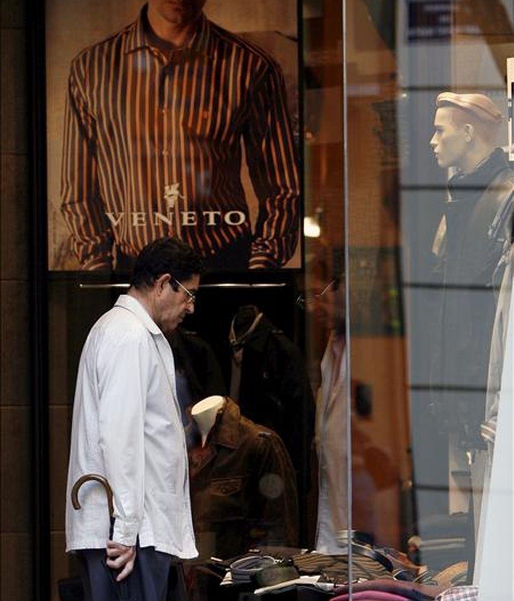 En la imagen, una tienda de ropa. EFE/Archivo