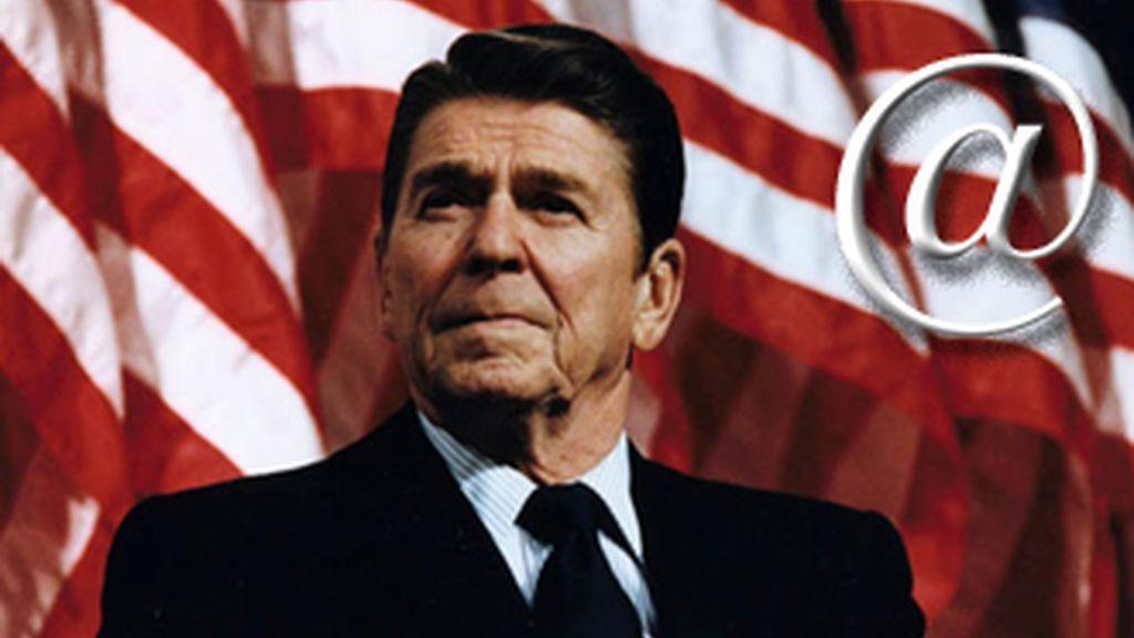 Michael Reagan, hijo del ex presidente republicano, ha lanzado un servicio de correo electrónico para el verdadero hombre de derechas.