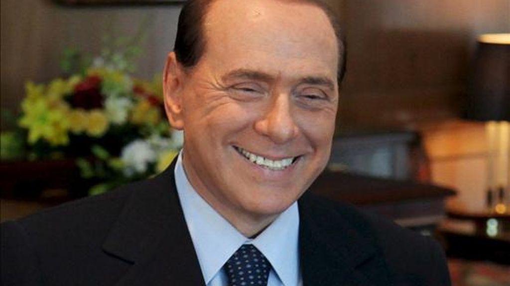 El primer ministro italiano, Silvio Berlusconi. EFE/Archivo