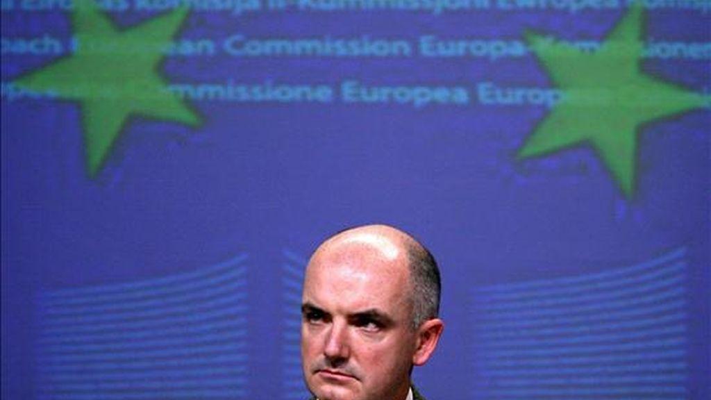 En la imagen, el portavoz comunitario de Comercio, Peter Power. EFE/Archivo