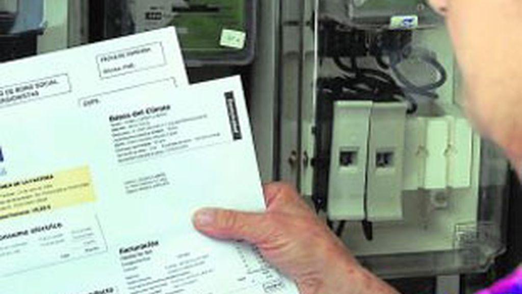 El IPC sube por la factura de la luz. Vídeo: Informativos Telecinco.