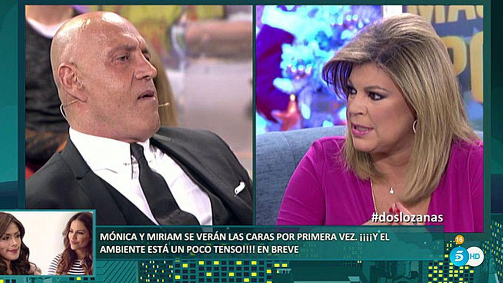 """Terelu Campos: """"Edmundo no es ningún santo, pero mi madre tampoco lo es"""""""