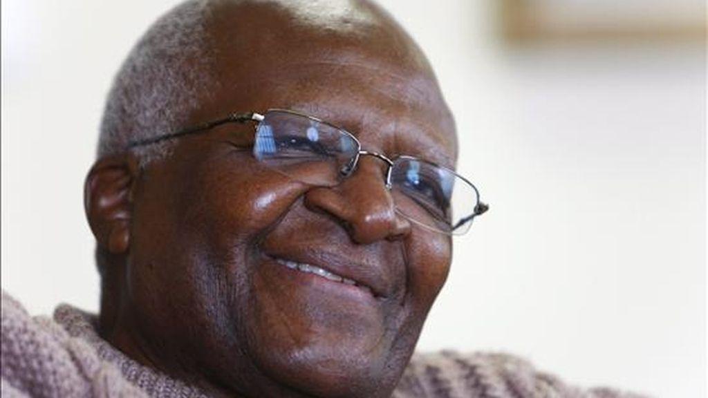 El arzobispo emérito anglicano sudafricano y Premio Nobel de la Paz, Desmond Tutu. EFE/Archivo