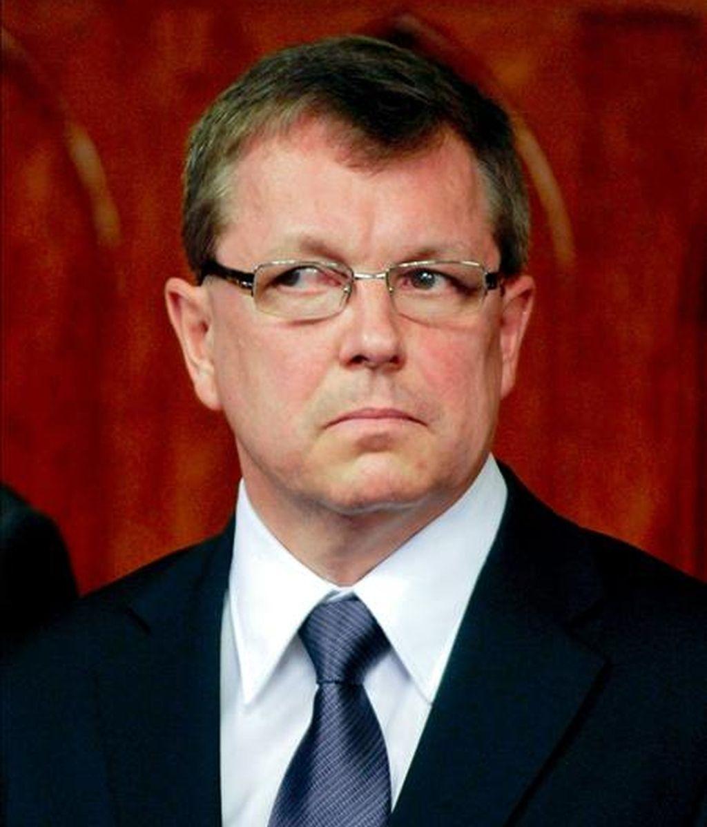 El ministro húngaro de Economía, György Matolcsy. EFE/Archivo