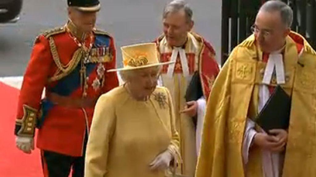 La Reina Isabel II y su marido, el duque de Edimburgo