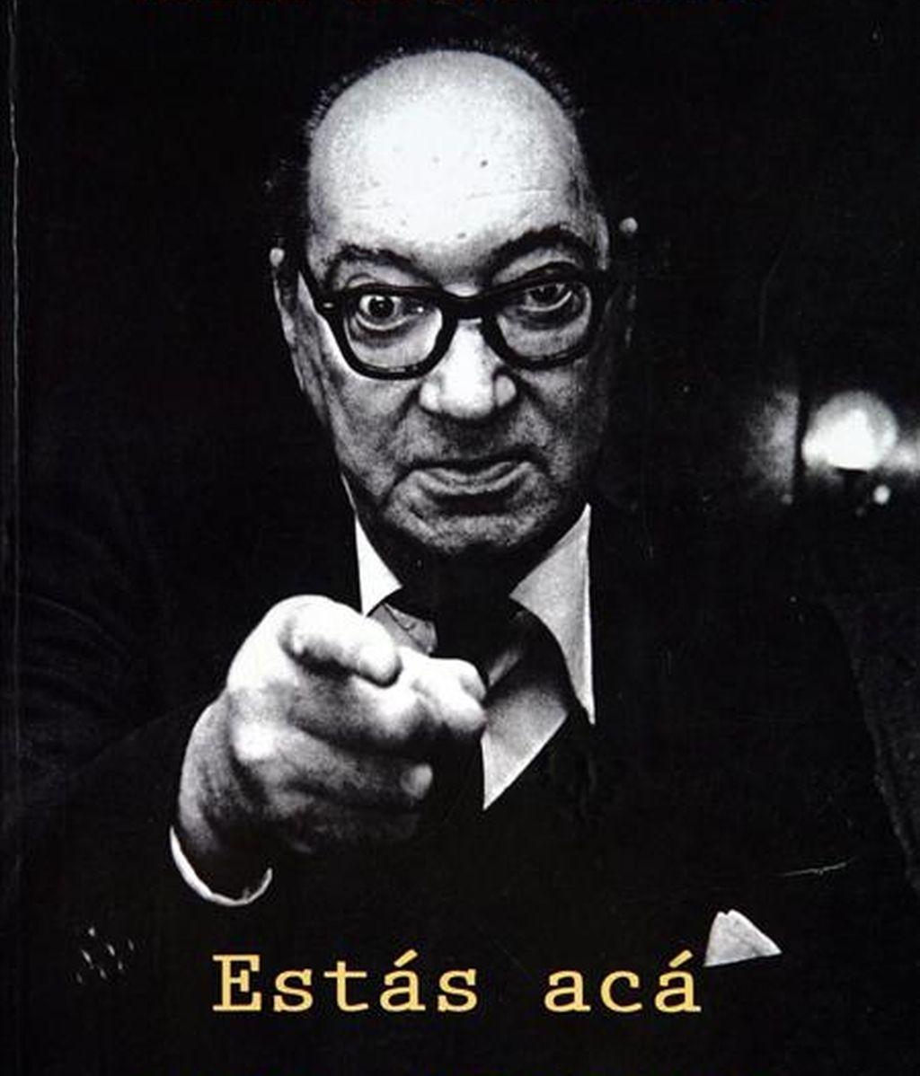 """Fotografía de la portada del libro """"Estás acá para creerme"""", de María Esther Gilio, sobre la vida del escritor uruguayo Juan Carlos Onetti. EFE/Archivo"""